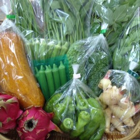 【第31回目】わが家のハルラボ商店『お野菜おまかせBOX』は先週土曜日に発送いたしました。今回の内容は自然栽培のモーウィ・ピーマン・モロヘイヤ・角オクラ・にら・アバシゴーヤー・山ほうれん草・ツルムラサキ・丸オクラ、無農薬栽培の新生姜・ドラゴンフルーツ、をお送り致しました。次回受付もお電話にて承ります。☎098-943-9575(詳細はコチラをクリック)