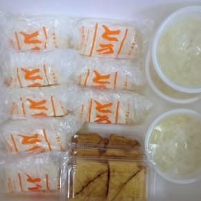 12/3(sat)本日の仕入れです。  浦添市 佐久川豆腐(九州産一等大豆ふくゆたか使用)の島豆腐・ゆし豆腐・厚揚げ豆腐、が入荷しました!