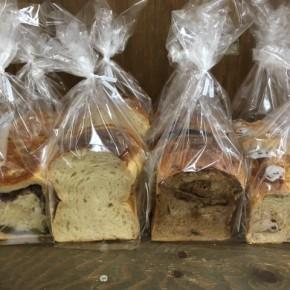 1/12(fri)天食米果さんの食パンが入荷しました!今回も食パン・チョコモカ・シナモン・あんぱんの4種です。毎週金曜日12時半に入荷します!