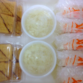 8/8(wed)本日の仕入れです。  浦添市 佐久川豆腐(九州産ふくゆたか一等大豆使用)の島豆腐・ゆし豆腐・厚揚げ豆腐が入荷しました。