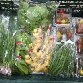 うるま市 玉城勉さん、北中城村 ソルファコミュニティ、八重瀬町 くりきんふぁーむの自然栽培の野菜が入荷しました!