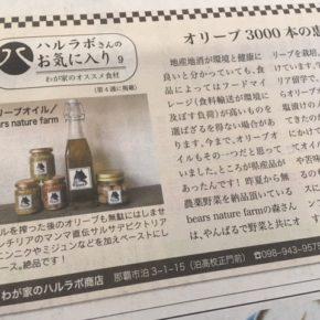 本日発行!琉球新報副読紙「レキオ」毎月第4木曜日発行号にてミニコラムを連載させて頂いています!※こちらクリックでご覧頂けます。
