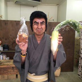 護得久先生が泊高校の講演帰りにご来店!お買い物ありがとうございます。チャメ!