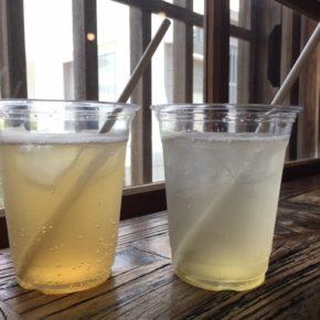暑い日が続きますね。自家製パイン酵素ジュースと梅ソーダで一息つきませんか?