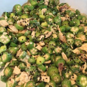 7/12(fri)のデリ!玄米おにぎり・レンズ豆のカレー(動物性原材料不使用)・凍み豆腐のから揚げ(ネギソース)・自然栽培人参のキャロットラペ・森さんのじゃがいもを使ったポテトサラダ・su-su-soonの甘辛しょうが油鶏もも肉・自家製ツナとオクラの和え物などご用意しています。
