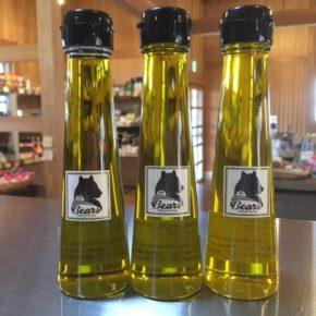 森さんの県産無農薬栽培のオリーブでつくったオリーブオイル3種類(チプレシーノ・サウスベルガル・パラゴン)が入荷しました!