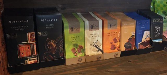 お待たせしました!毎年ご好評いただいているオーガニックチョコレートが入荷しました。
