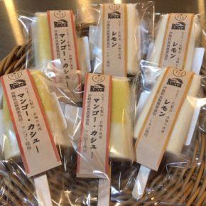 まだまだ暑い日が続きますね。ハルラボ印!アトリエRUCCAさんの無添加アイスキャンディーの新味が入荷しました。